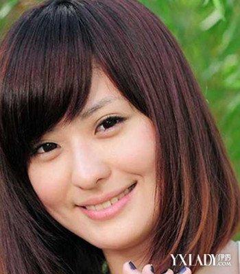 【图】国字脸短发图片风格发型4款不同女生发女生宽短发圆脸额头发型图片