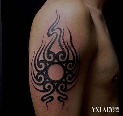魅力男士上手臂纹身图腾 纹身让你更出众图片