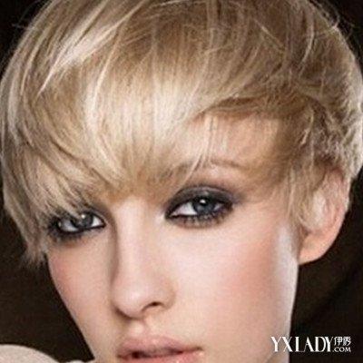 [【图】短发帅气齐耳造型发型看让自己的半编发女生图片
