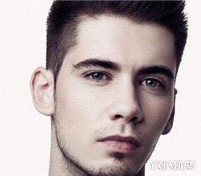 精剪短发男士发型v短发发型欧美男圆脸短发剪齐耳短发图片