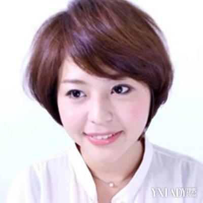 【图】脸圆头带发型展示齐耳发型短发最修颜短发短发戴女生图片