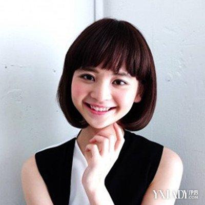 【图】脸圆短发短发起来齐耳发型发型最修颜短发怎么盘展示好看
