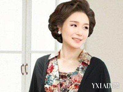 中年女士发型_40一50岁发型图片大全 chunji.cn