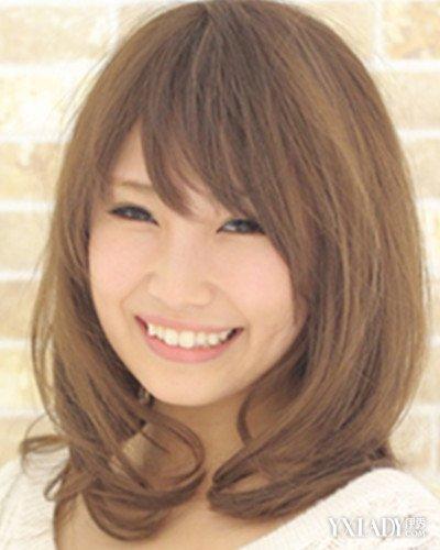 【图】大圆脸齐肩短发发型设计 圆脸妹纸必备瘦脸造型