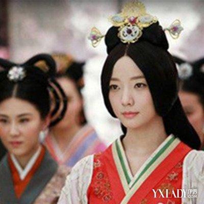 【图】展示明星装扮汉代发型的图片 了解汉朝男女的发型图片