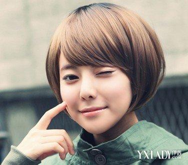 【图】圆脸女短发型图片欣赏