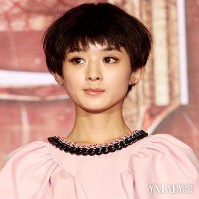 【图】小骨赵丽颖发型大全图片展示不一样的斜发无刘海发型男图片