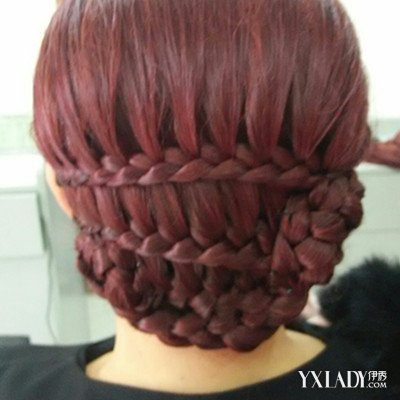 【图】高雅短发新娘盘发 韩式盘发方法大全