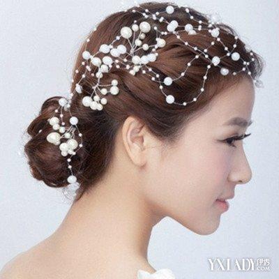 新娘盘发造型图片展示 三款唯美编发让你变身优雅女王