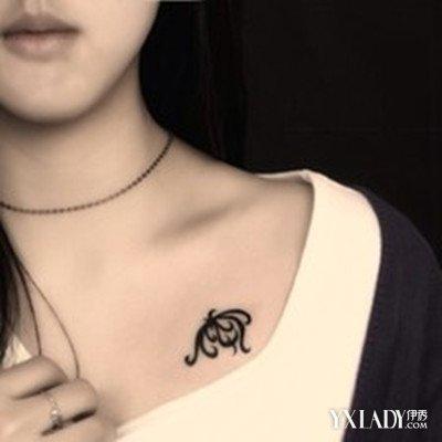 美容 彩妆 潮流彩妆 / 正文   这款纹身就显得女人味多了,毕竟这款图片