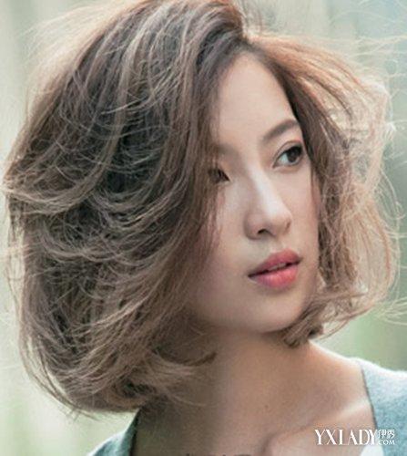 短发蓬松烫发型图女分享 塑造最美丽的时尚女孩图片