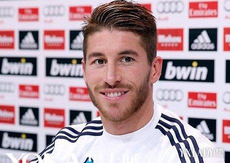 足球运动员发型大全展示图片
