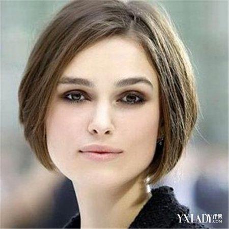 女生方脸发型图片欣赏 4款发型遮掉烦人腮帮子图片