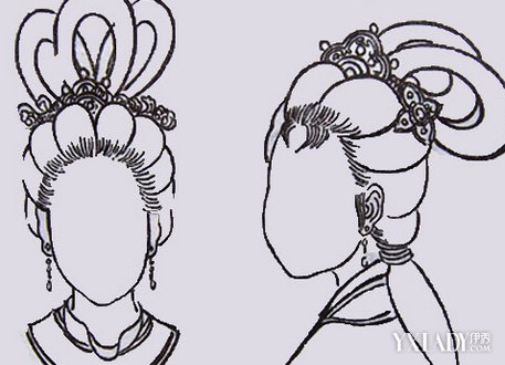 【图】揭秘唐朝女子发型