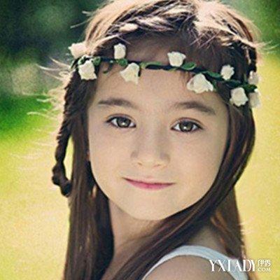 【图】舞蹈文艺造型发型图片展示小a舞蹈儿童黄头发搭配挑染短图片