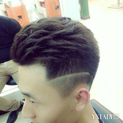 男士短发烫发发型 短发发型再升图片