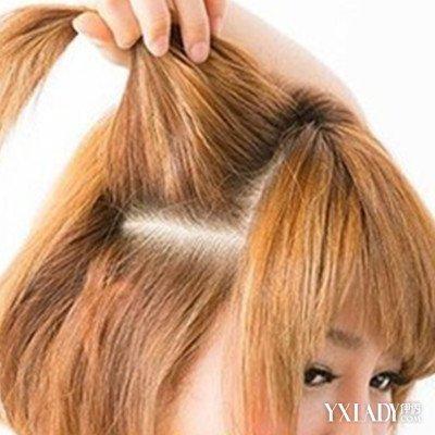 化学染发改变的是头发的自身结构和腐蚀头皮的过程