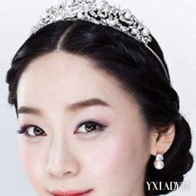 新娘戴皇冠发型图片展示 以下3款皇冠发型为你介绍图片
