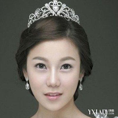 【图】新娘戴皇冠发型图片展示 以下3款皇冠发型为你介绍图片