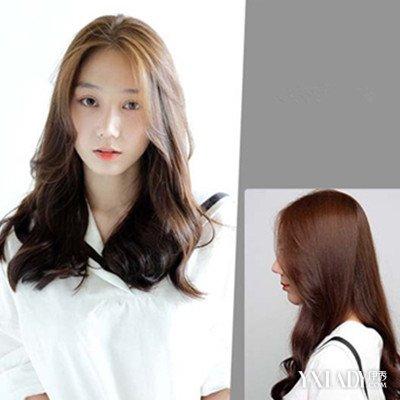 【图】韩国中长发大卷发型图片展示图片
