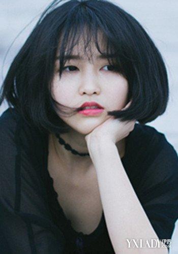 【图】女生短发内扣加空气刘海 最新流行的发型你不能图片
