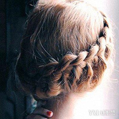 【图】儿童盘头发简单好看的步骤图解图片