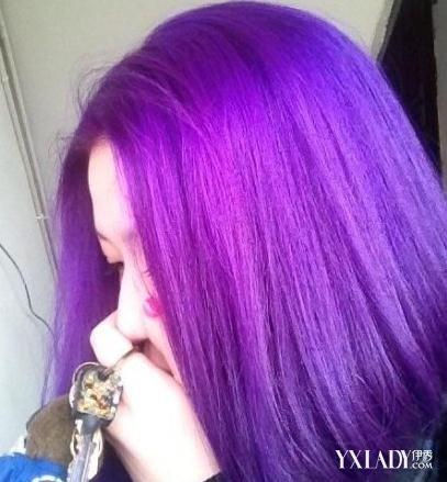 【圖】頭發紫色打蠟效果圖