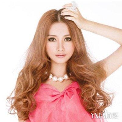 【图】微烫发型女长发图片展示图片