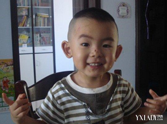 【图】三岁男宝宝发型图片大全