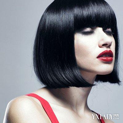【图】女生头发拉直后剪短发图片赏析 教你直发后如何图片