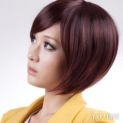 女生头发拉直后剪短发图片赏析 教你直发后如何护理还有保养
