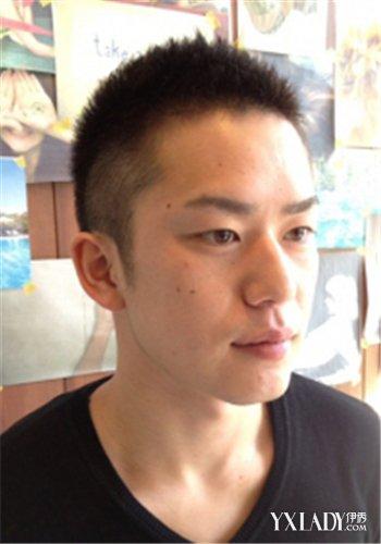 【图】4款时尚男生圆平头发型 简单造型展现你的魅力