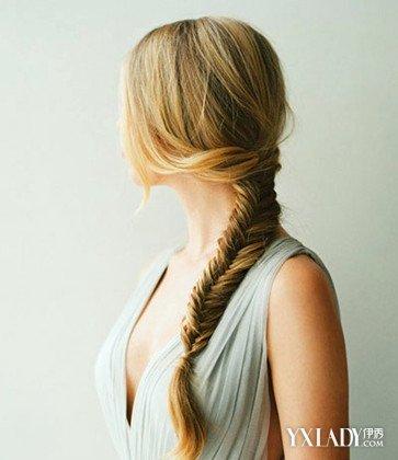 侧边编发一边披图解 教你做最时尚潮流的发型