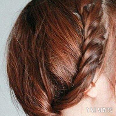 发型 流行发型 正文  幼儿编发教程图解 步骤:首先是分区,将头发分成