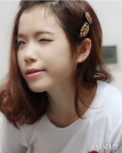 【图】齐刘海编发发型 几招教你怎么编出明星的最爱