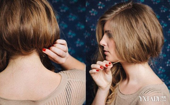 长发变短发波波头 不动刀也能过短发瘾