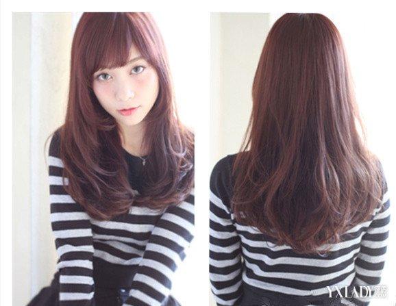 【图】发型内扣直发发型图片 清新甜美温暖心房图片