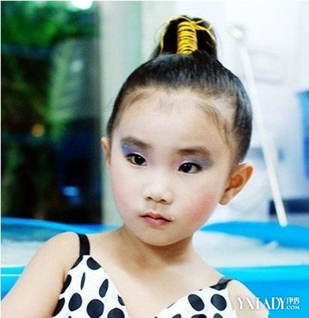 【图】幼儿表演发型设计
