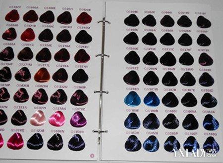 【图】色板颜色大图头发欣赏 为你揭开染色板上的奥秘