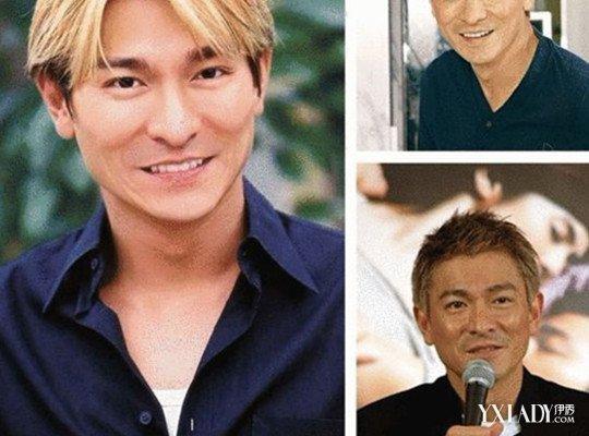 刘德华中分发型图片大全 值得男士效仿的天王发型