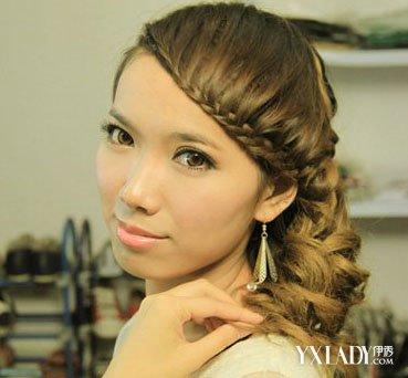 韩式短发伴娘发型图片图片