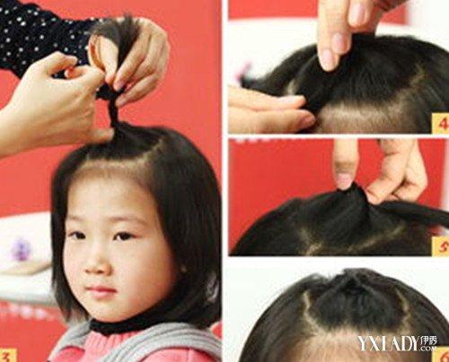 【图】给宝宝扎头发图解图片