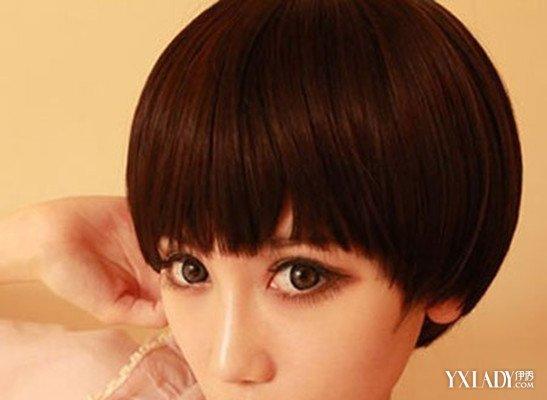 求女生西瓜头的正侧后面的发型的图片 或是西瓜头怎样