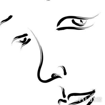 五官鼻子矢量图