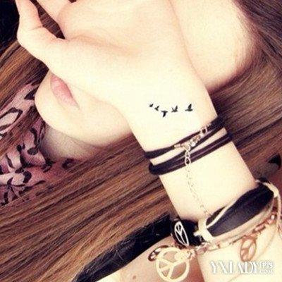 【图】女生手腕纹身小图案欣赏