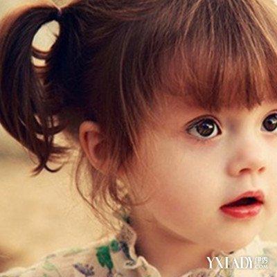 小女孩剪什么发型好看图展示5个发型蜕变甜心小公主图片