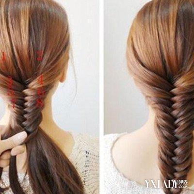 【图】中卷发怎么扎好看图解 几个技巧教你怎么扎头发