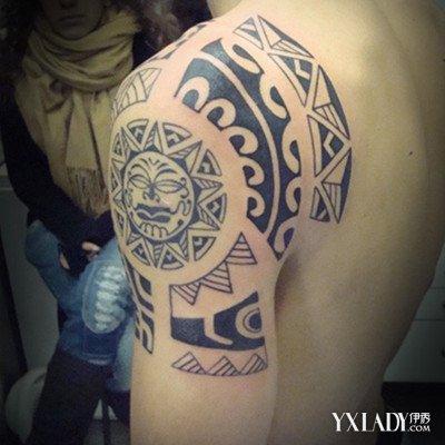 个性纹身男图片手臂展示 纹身十一个注意事项大揭秘