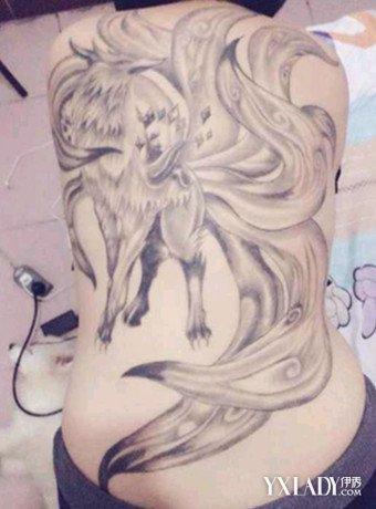 【图】九尾狐纹身样式魅惑力十足图片