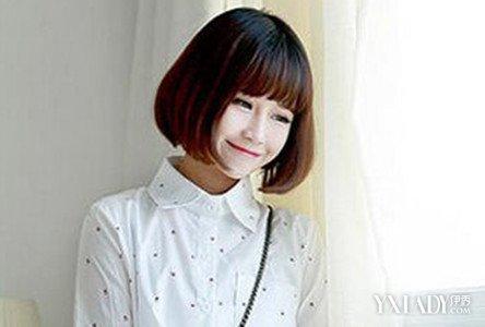 【图】适合圆脸头发少的短发有哪些 五款短发发型推荐图片